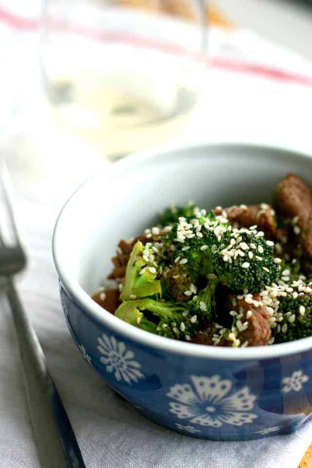 A tasty beef and broccoli stir fry recipe that goes together quickly with normal ingredients. Gluten free recipe.