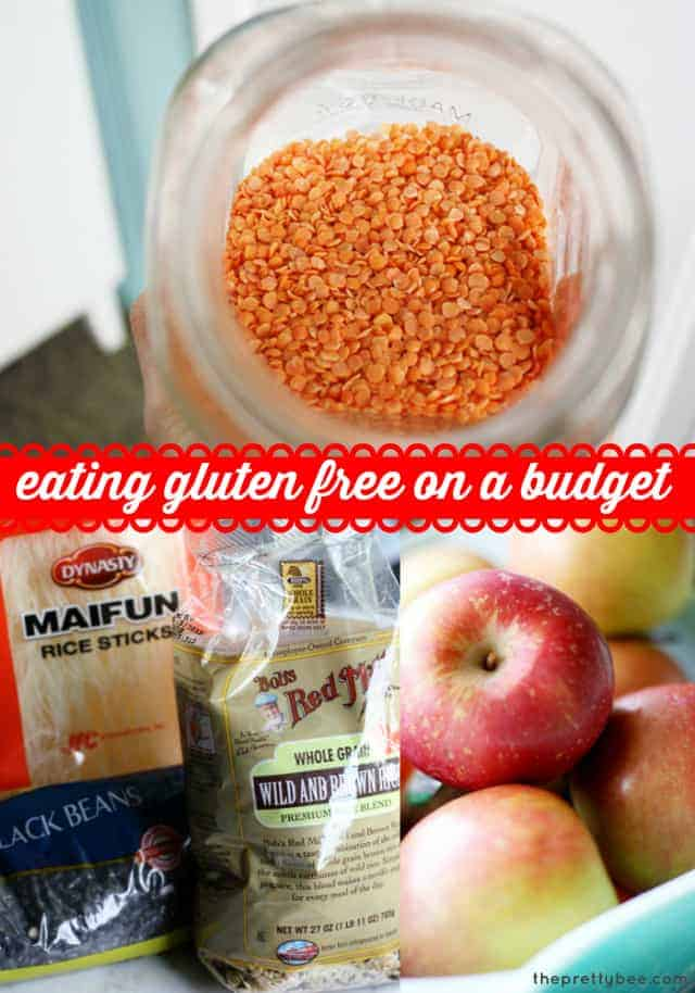 Eating gluten free food on a budget - tips and tricks for finding gluten free foods at a great price!