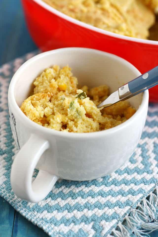 A vegan cornbread stuffing casserole recipe.