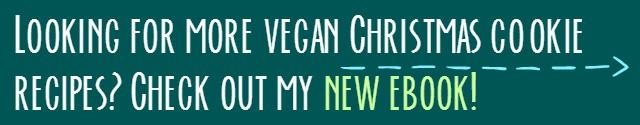 vegan holiday treats ad