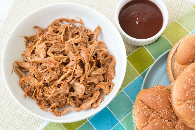 Slow cookier pulled pork from Kristine's Kitchen