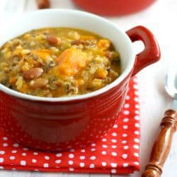 Sweet potato crockpot soup