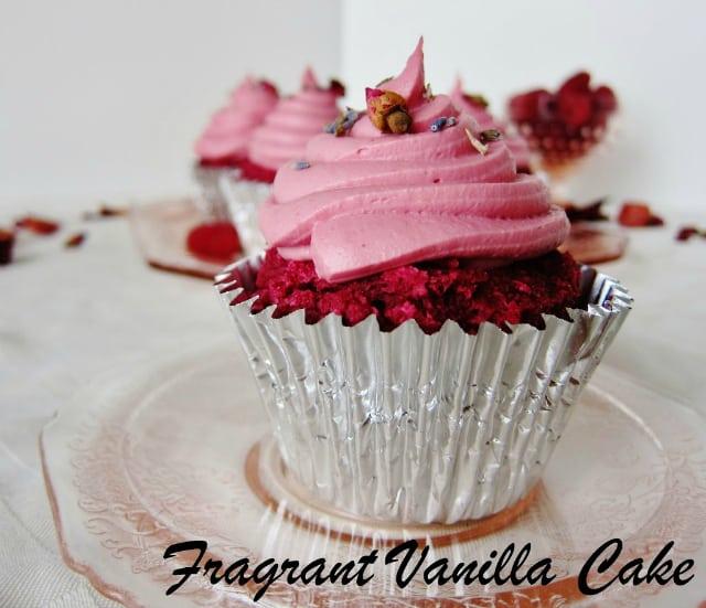 40 Delicious vegan cupcake recipes - Red Velvet Cupcakes from Fragrant Vanilla Cake