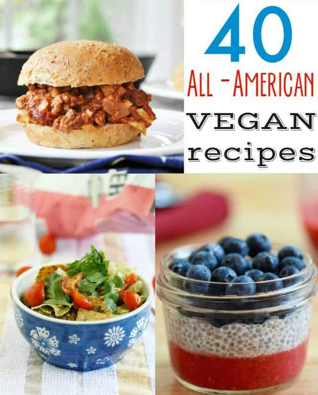 All-American Vegan Recipes.