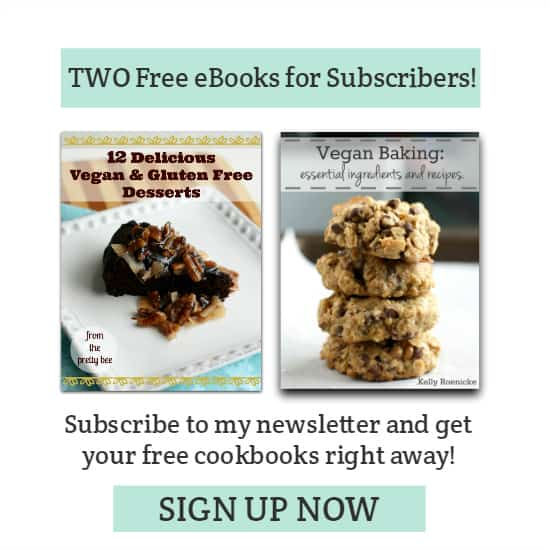 Get two free ebooks when you subscribe to my newsletter!