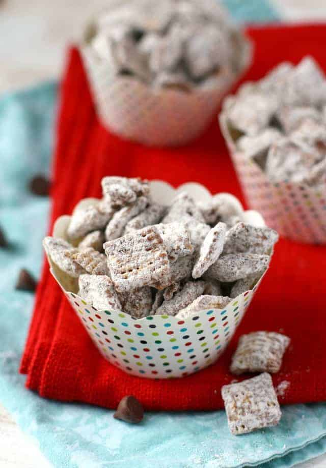 Allergy Friendly Muddy Buddies (Gluten Free, Nut Free). - The Pretty ...