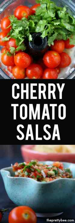 Small Of Cherry Tomato Salsa
