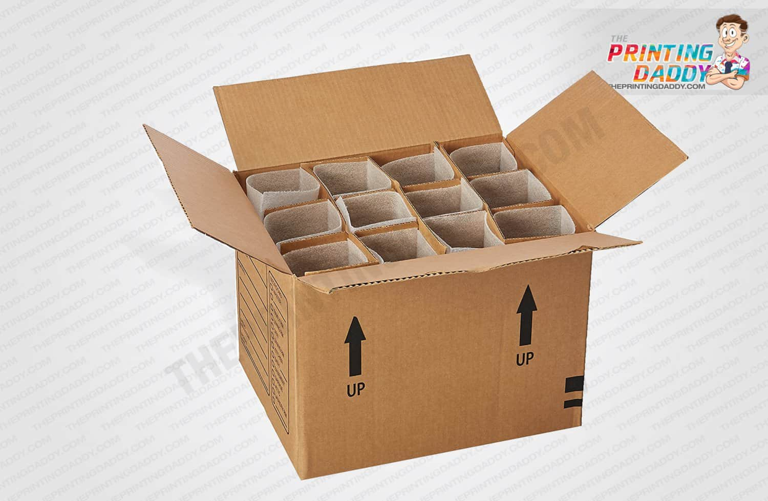 Cardboard Box Dividers Best Custom Cardboard Box Dividers Partitions The Printing Daddy