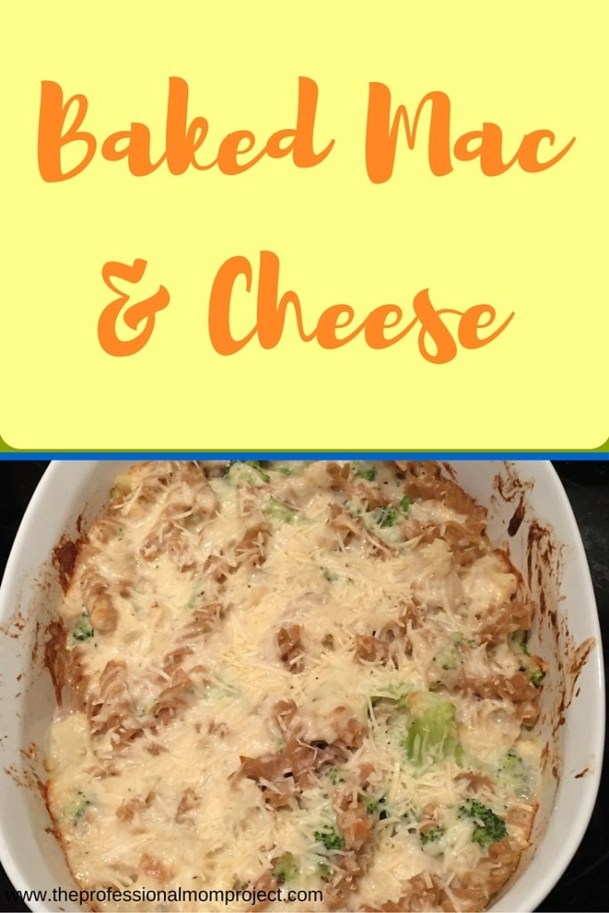 Baked Mac & Cheese Recipe from www.theprofessionalmomproject.com