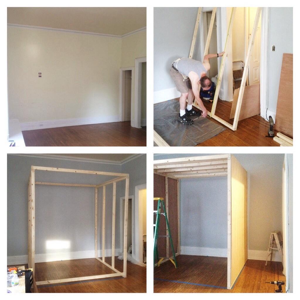 Studio Apartment Sleeping Solutions How I Turned My Studio Apartment Into A One Bedroom The