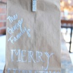 Tut Tuesday: Brown Bag Upcycle… With Glitter!