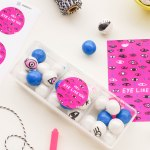 PRINTED \ Printable Eyeball Valentines with DIY Eye Gumballs