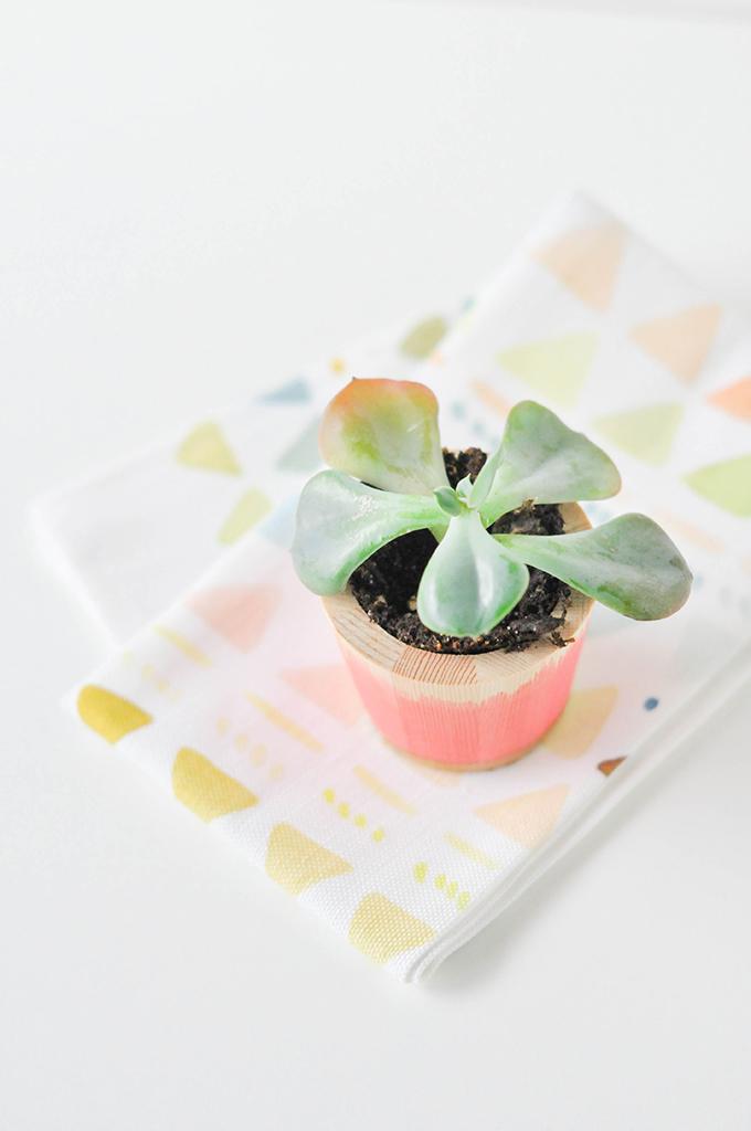 DIY Dip-Dyed Vase