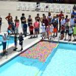 Quackers and Rotary Hold Ducky Dash at Lamar Pool
