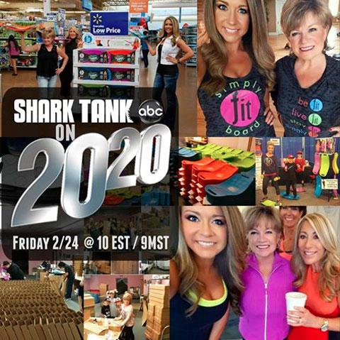 Simply Fit Board @ Shark Tank