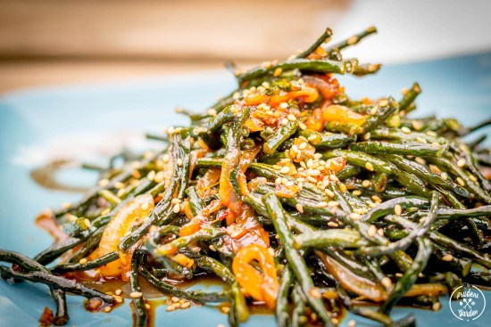Soy Glazed Long Beans Recipe
