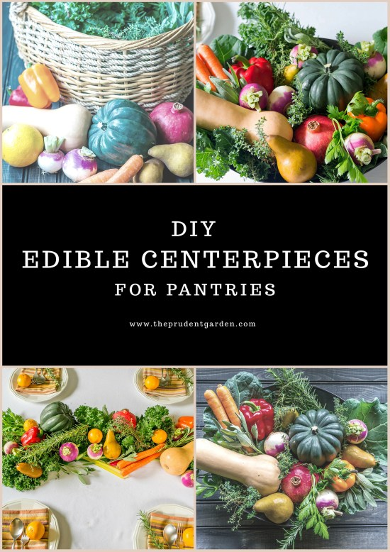 We've teamed up with AmpleHarvest.org to show you have to create a DIY edible centerpiece you can donate to a food pantry after the holiday meal this year.