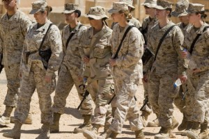 Standing Up for Others: The Impact of Women in the Military
