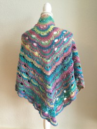 Crochet Pattern Virus Shawl ~ Dancox for