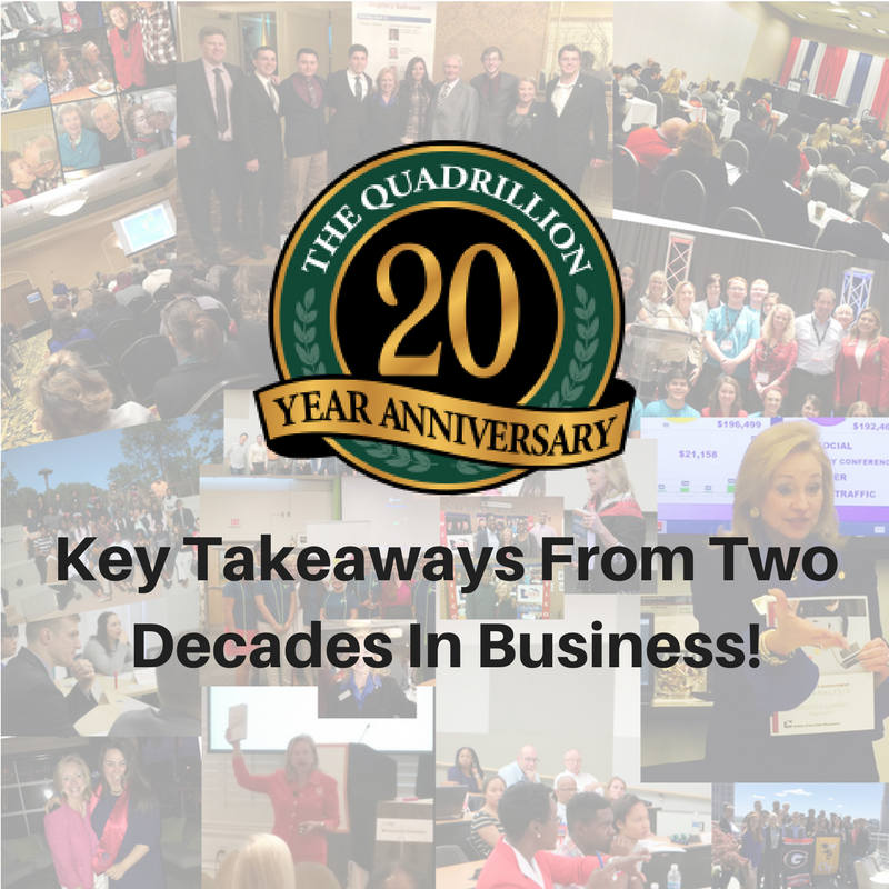 A 20 Year Milestone Key Takeaways From Two Decades in Business