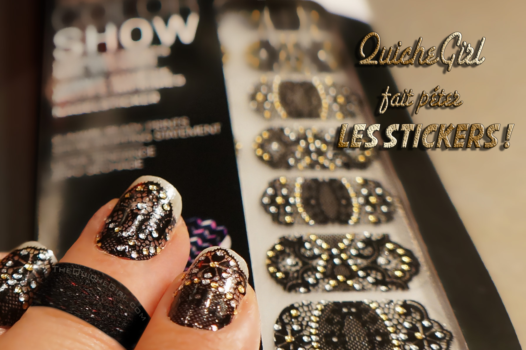 Strass Autocollant Pas Cher Maybelline Stickers Lace Jewels Quichegirl