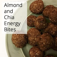 Almond and Chia Energy Bites