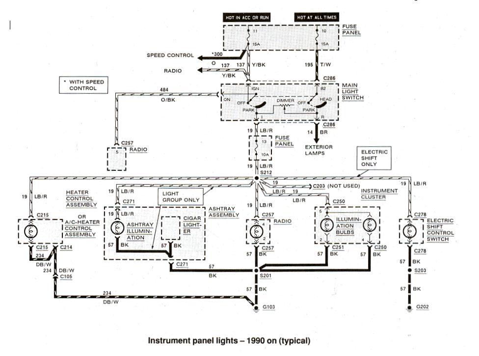 1993 ford ranger speaker wiring