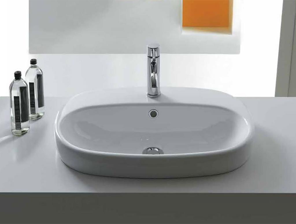 Vasca Da Bagno Ovale Da Incasso : Lavabo bagno ovale da incasso in svariate forme e misure le vasche