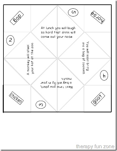 paper folding template Archives - Therapy Fun Zone
