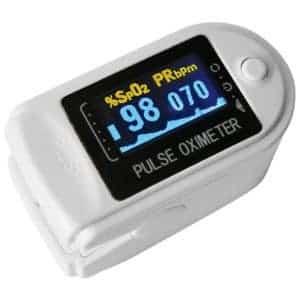CONTEC CMS50D – Portable Finger Pulse Oximeter