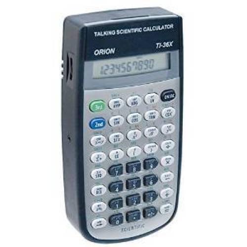 Orion T136X Talking Scientific Calculator