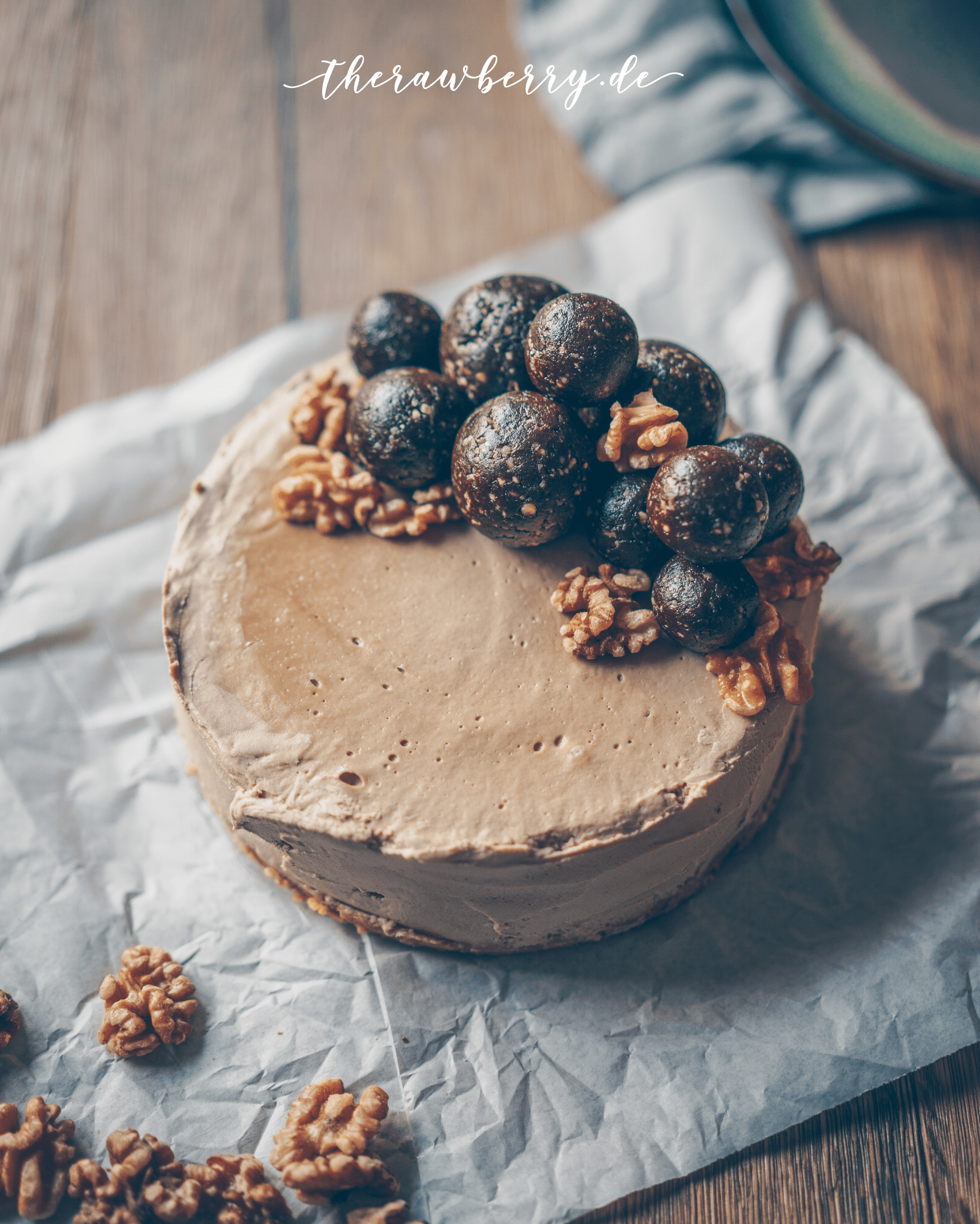 Laktose Und Glutenfreier Kuchen No Bake All Vegan Latte Macchiato Cheesecake Gf Sf The Rawberry