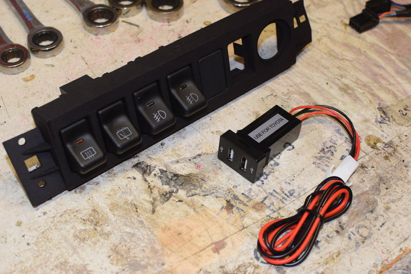 Jeep XJ Fog Light Wiring with OEM Rocker Switches - Craig Davis