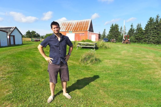 Cape Breton, Judique, Old Farm, Old Farmhouse, Red Barn