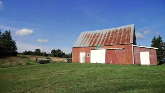 Cape Breton, Judique, Old Barn, Red Barn