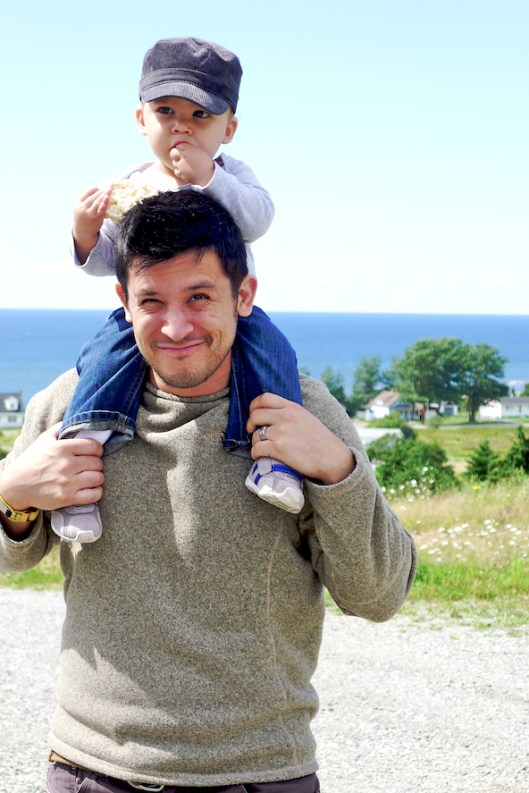 Port Hood, Cape Breton, Cute Kid, Cute Hapa Man