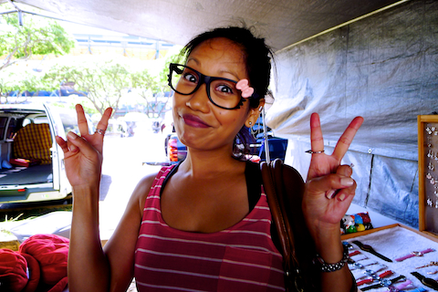 Aloha Stadium Swap Meet, Honolulu Swap Meet, Honolulu life, Honolulu living, hello kitty glasses, hello kitty frames