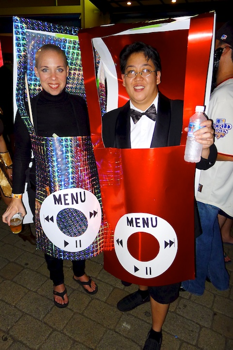 thereafterish, Aloha Tower Halloween Party, iPod Costume