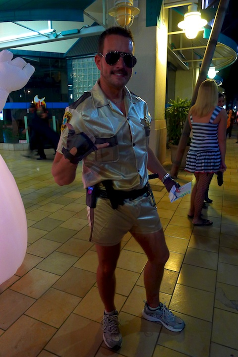 thereafterish, Aloha Tower Halloween Party, RENO 911
