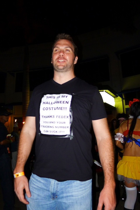 thereafterish, Aloha Tower Halloween Party,