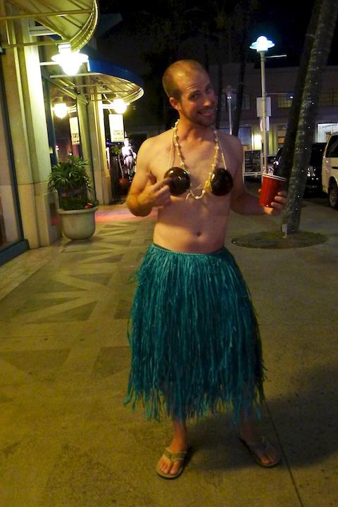 thereafterish Aloha Tower Halloween Party Hula Man & Halloween Costume Ideas Archives » thereafterish.