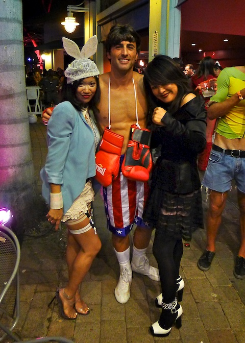 thereafterish, Aloha Tower Halloween Party, Rocky Balboa Costume