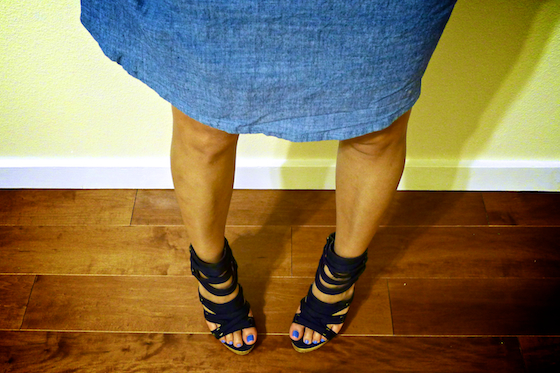 thereafterish, ootd, hawaii style blog, shoe porn, cage heels