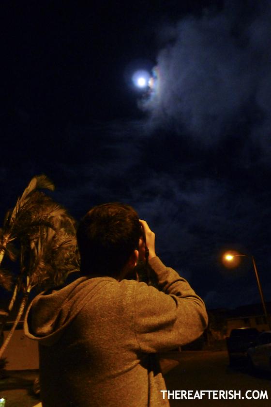 thereafterish, hawaii super moon, hawaii life, summer solstice moon, super moon, super moon hawaii, cloudy sky moon, night sky moon picture