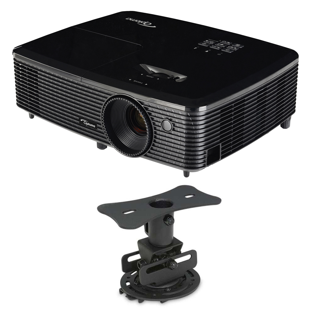 Optoma 3d Details About Optoma Hd142x Full Hd 1080p 3d Dlp Home Theater Projector W Mustang Low Profile