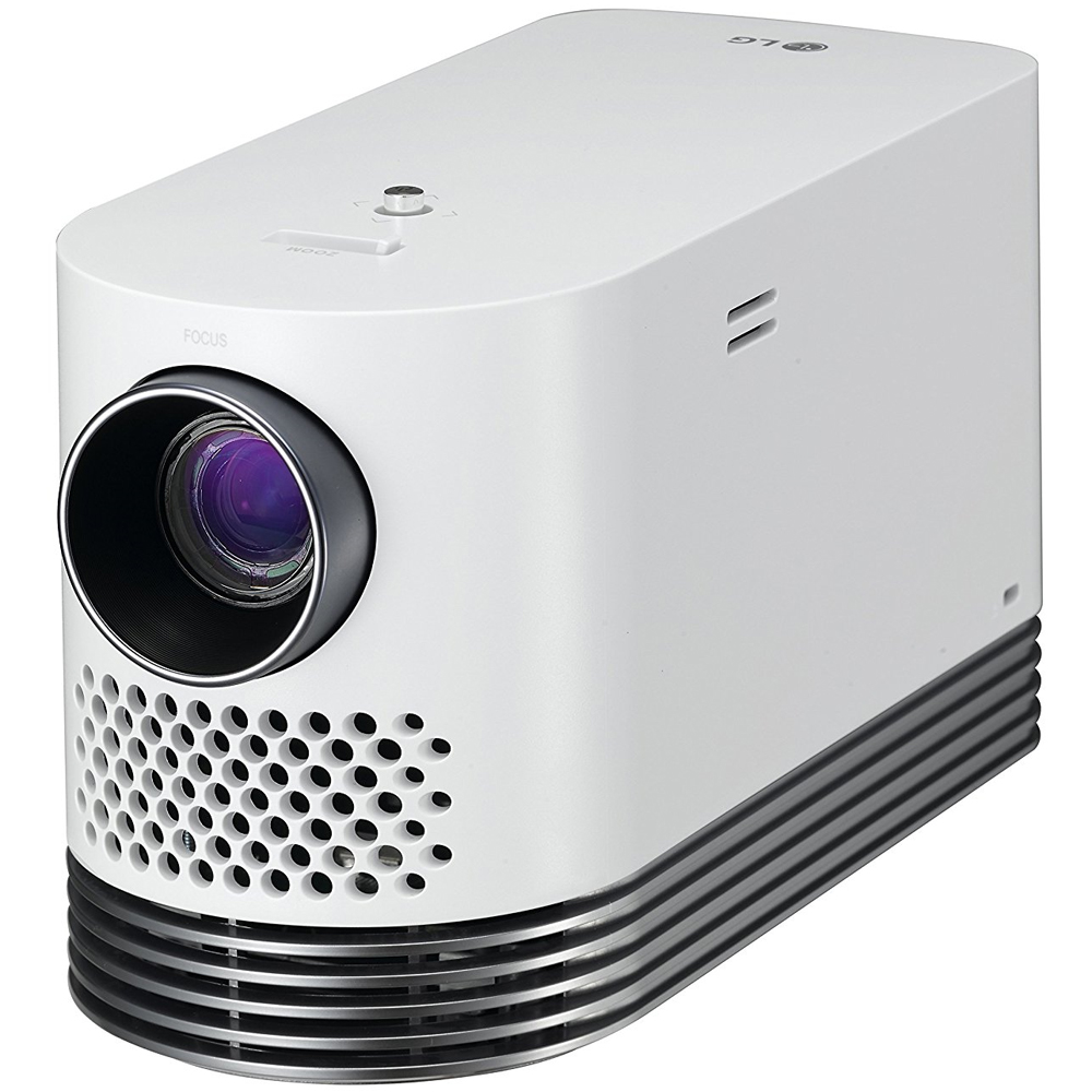 Lg laser smart home theater projector white hf80ja