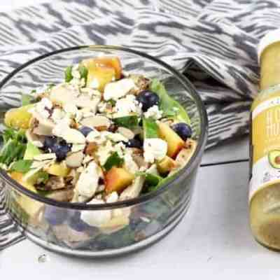 Dietitian's Day of Eats + Salad Recipe