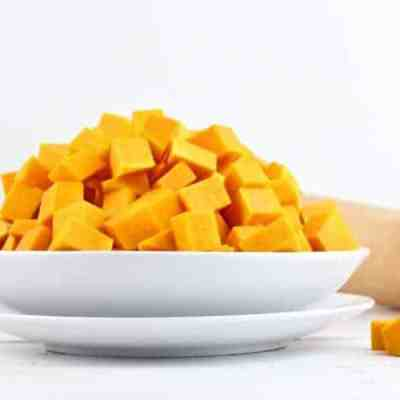 How-to Cube Butternut Squash