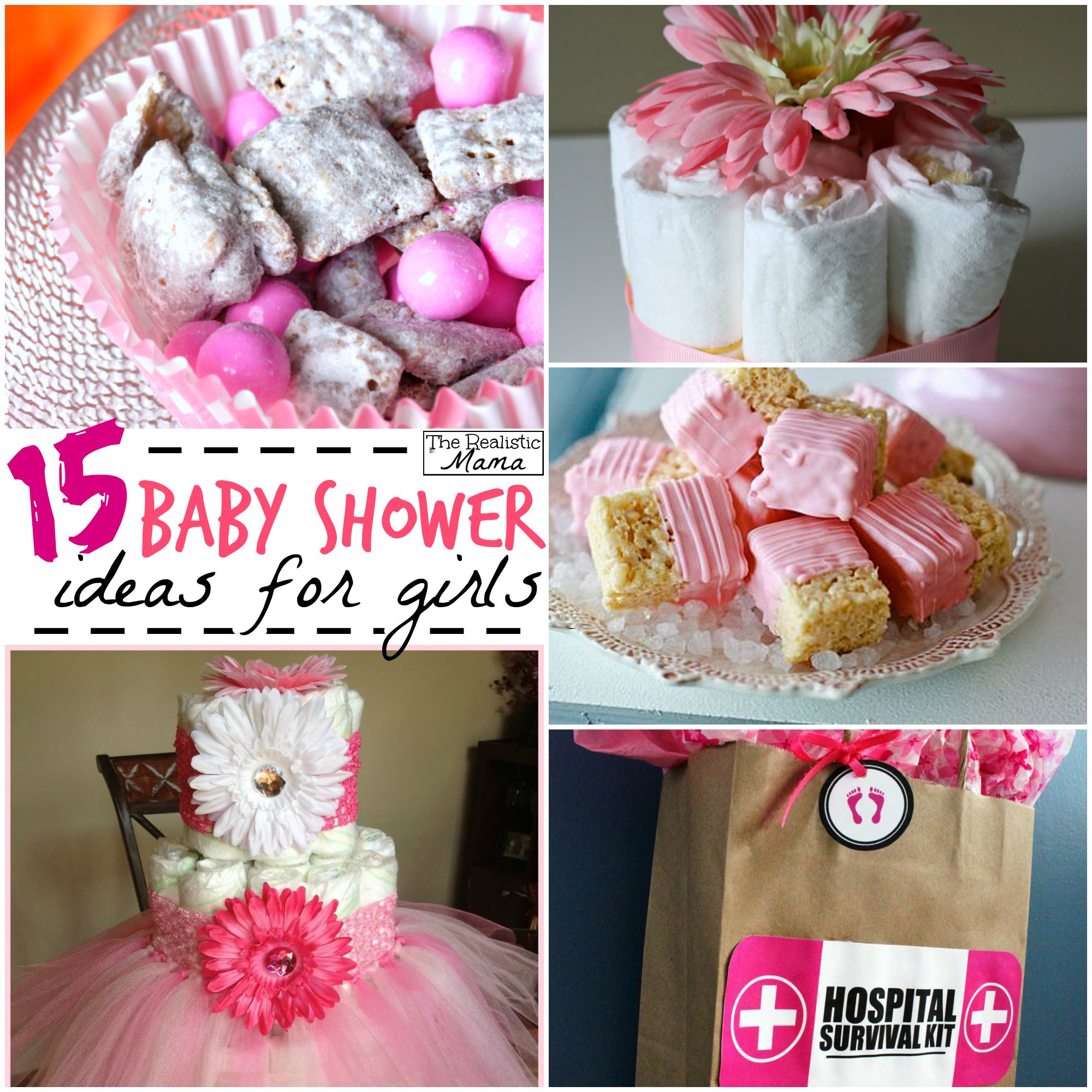 Decoration Ideas Baby Shower Girl 15 Baby Shower Ideas For Girls The Realistic Mama