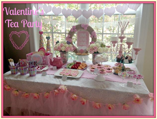 Valentine\u0027s Tea Party - Dimple Prints